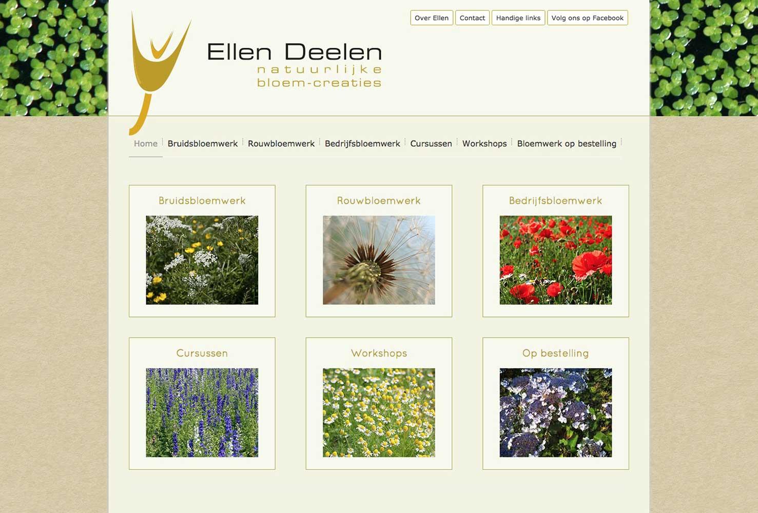 Ellen Deelen natuurlijke bloem-creaties