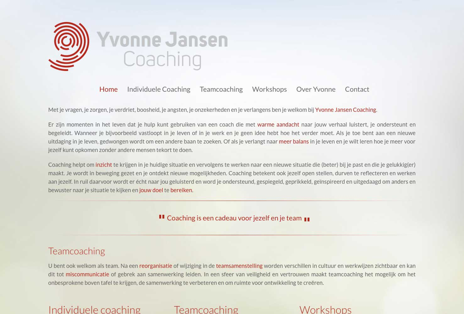 Yvonne Jansen Coaching