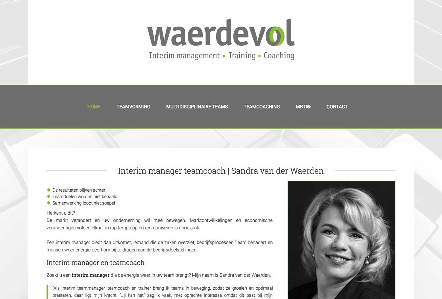 Waerdevol Interim Managemen