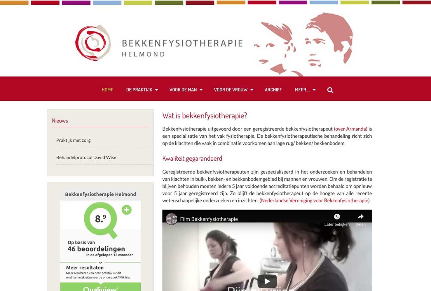 Bekkenfysiotherapie Helmond
