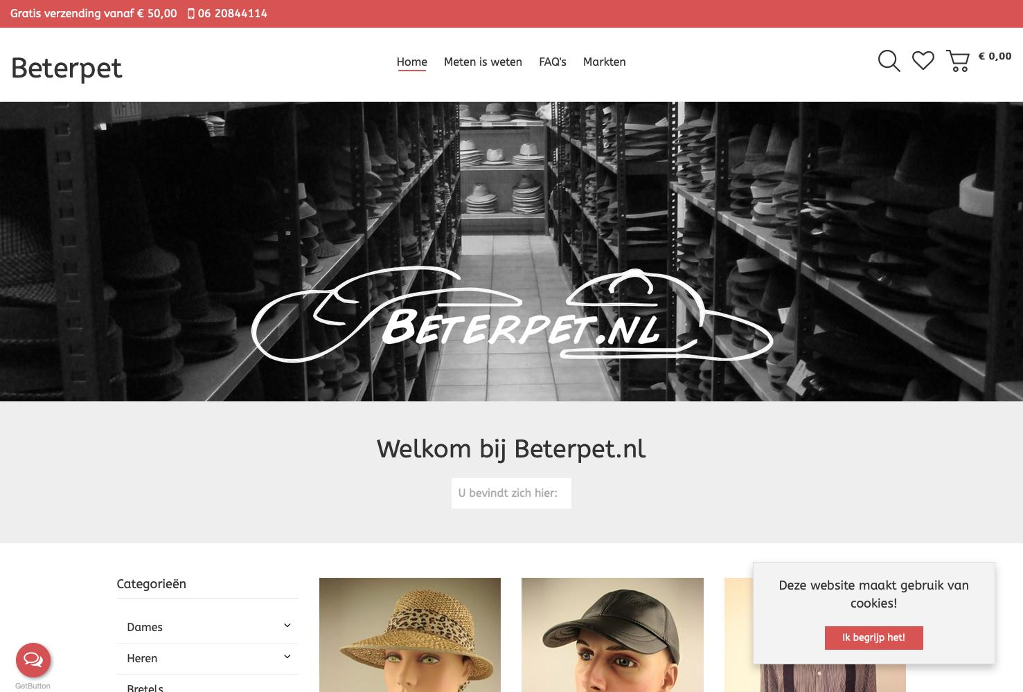 Webwinkel Beterpet