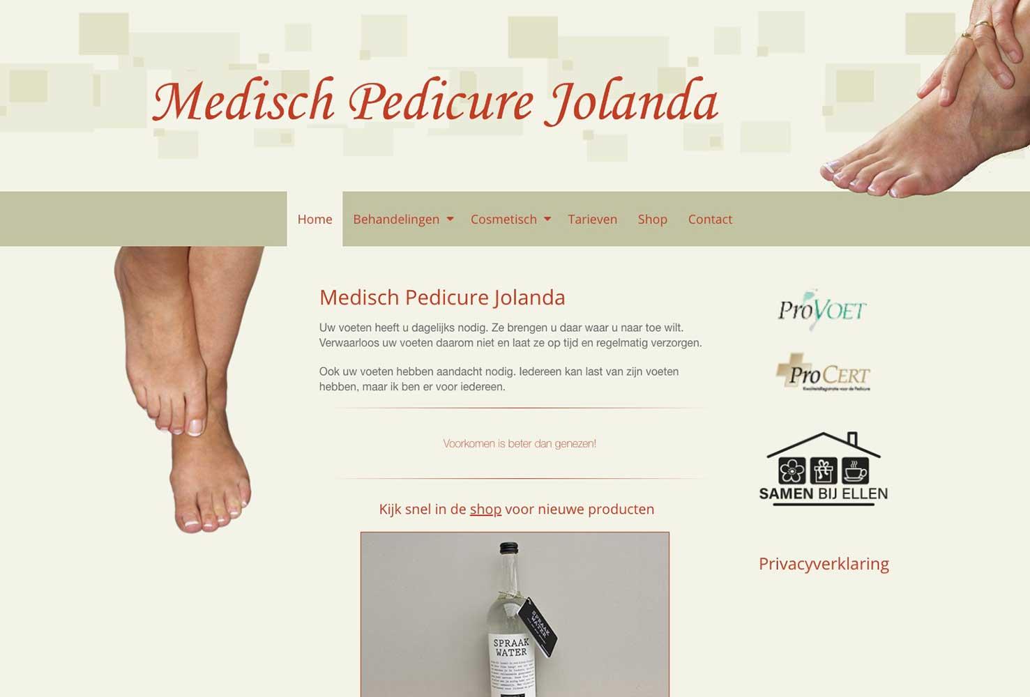 Medisch pedicure Jolanda